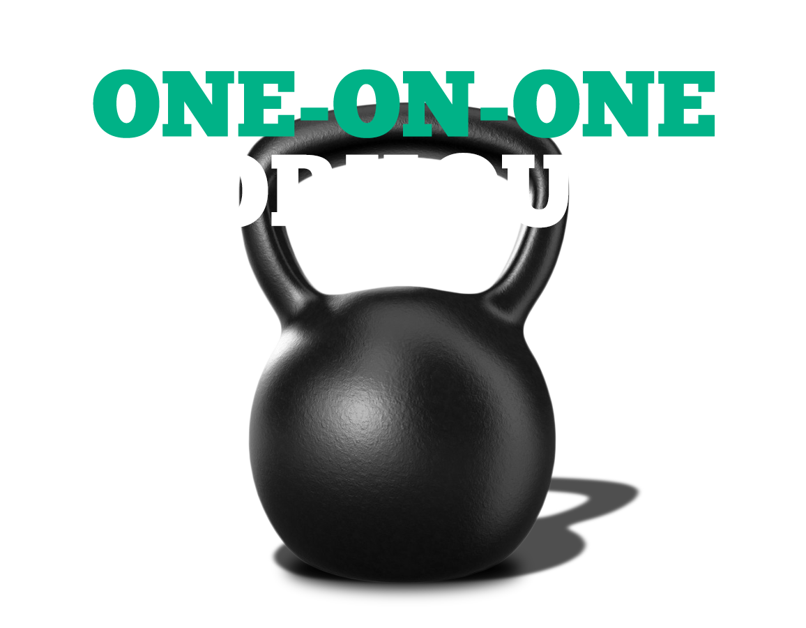 ONE-ON-ONE WORKOUTS